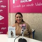 Sara Navarrete presentando su nuevo libro Aumenta tu autoestima