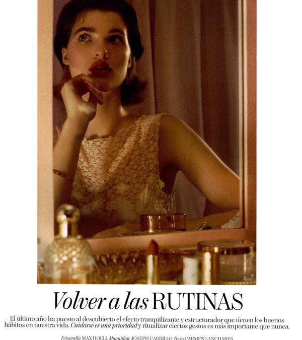Volver a las RUTINAS  (Colaboración en publicación de Vogue)